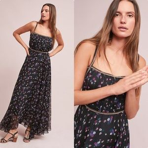 NWT Floral Maxi Dress Anthropologie